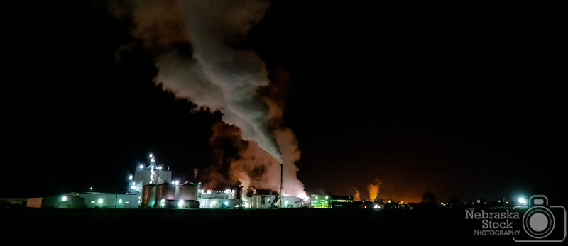 11-07-2018<br /> <br /> 311/365<br /> <br /> You can tell its getting colder out at night by looking at the steam exhaust from the ethanol plant north of town.<br /> <br /> Photo taken with a Sony A6300 with a Sony 18-105<br /> <br /> ISO 8000<br /> <br /> 1/20th at F4<br /> <br /> Picture No. 199879