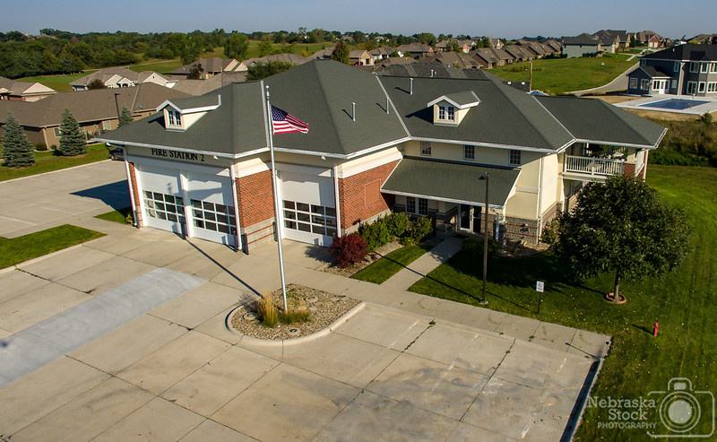 9-17-2018<br /> <br /> 260/365<br /> <br /> Norfolk Fire Division's Station 2<br /> <br /> Photo taken with a DJI Inspire 1<br /> <br /> ISO 100<br /> <br /> 1/1600th at F2.8<br /> <br /> PIcture No. 158491
