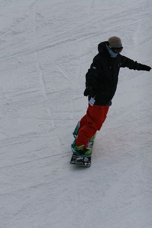 sat 12/5/09 late on vista, shot down from the chair