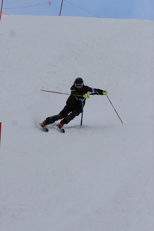 sat 12/5/09 ski race training off south canyon