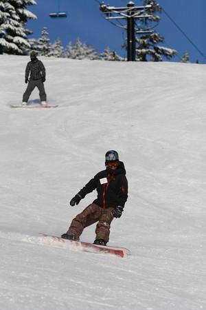 sunday 12/13/09 mt hood express reservoir hill run