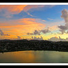 November 27, 2014<br /> <br /> Antigua<br /> <br /> So I am being greedy on Thanksgiving and posting three photos of the sunset sail away from Antigua.  I just couldn't choose which one I liked the best.<br /> <br /> I am thankful for so much in my life, the ability to travel, a job I like, wonderful friends and a family I couldn't live without.<br /> <br /> Happy Thanksgiving from my home to yours.