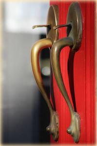 December 29, 2014  I love door handles.