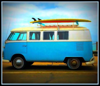 """Fotoeffects Alphabet Challenge ~ """"V"""" is for Volkswagen Van (Bus)"""
