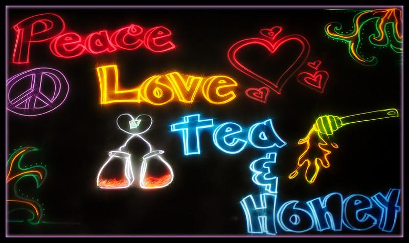 Peace, Love, Tea & Honey