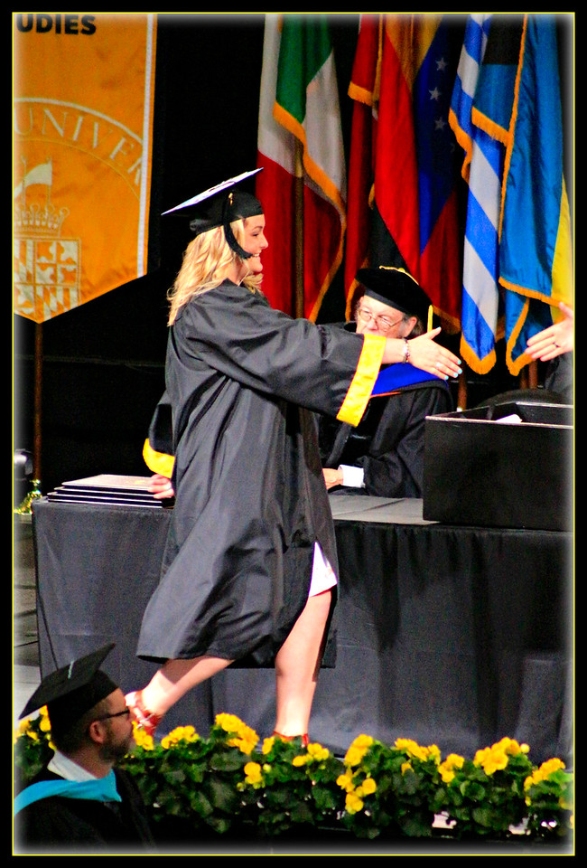 Towson University Graduation