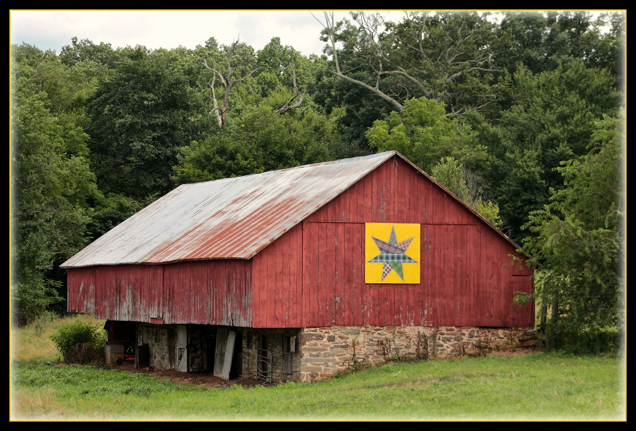 The American Quilt  Movement ~ Carroll County Barn Quilt Trail
