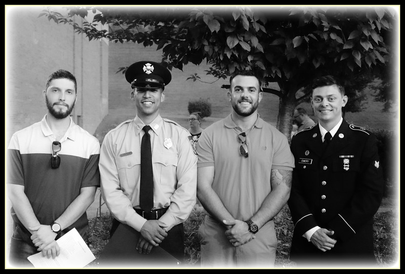 Baltimore County Fire Academy Graduation; Class #111