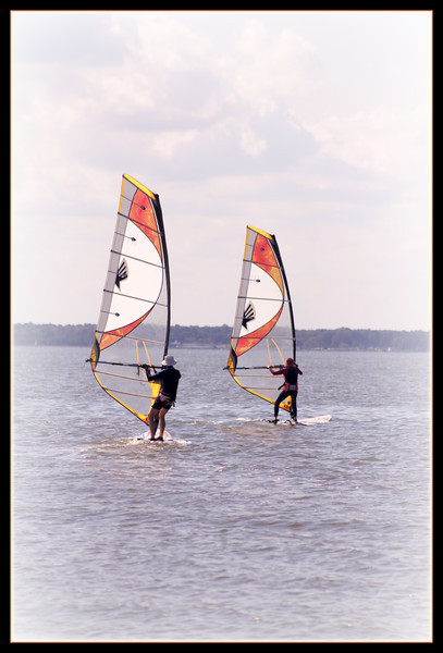 """Fotoeffects Alphabet Challenge ~ """"S"""" is for Seniors who Sail"""