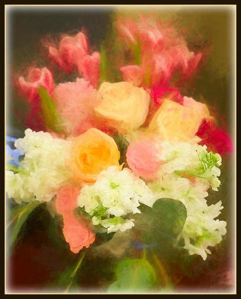 Chalk Flowers