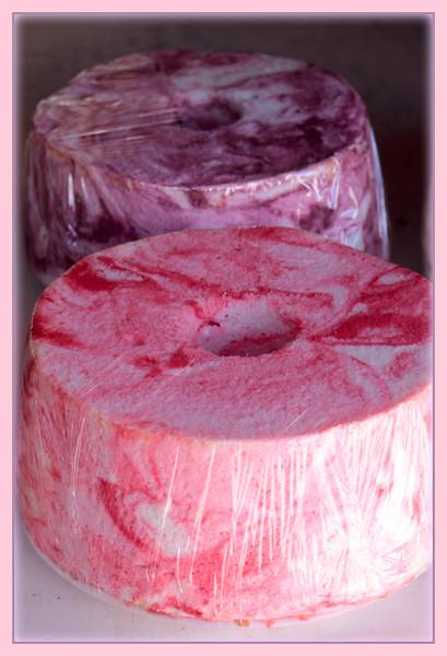 Pink Angle food cake
