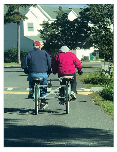 A bicycle built for Two!