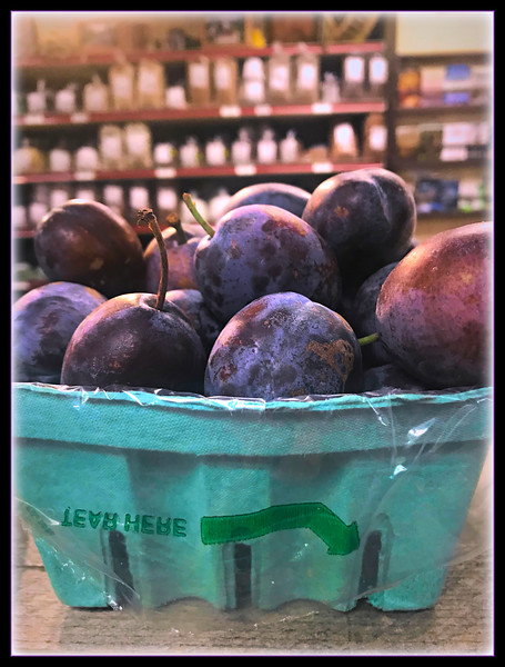 """Fotoeffects Alphabet Challenge ~ """"P"""" is for Plums!"""