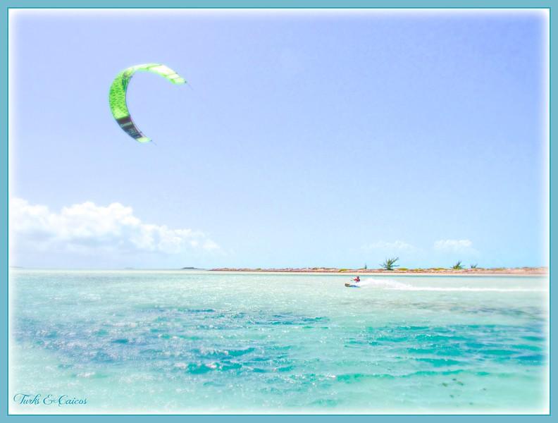 """Fotoeffects Alphabet Challenge ~ """"K"""" is for Kiteboarding"""
