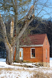 March 13, 2015  One Room School House ~ somewhere in PA