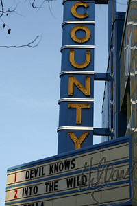 December 1st (2 for this day) Love and old theater for watching a good movie..(Into the Wild) Did YOU see it, too?