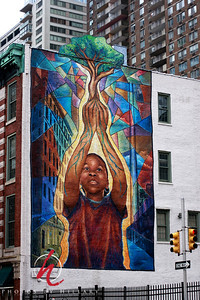 Post 367 12/25/08  Mural of hope... another wonderful mural in Center City Philadelphia. Hope you are all making Merry today! Enjoy!