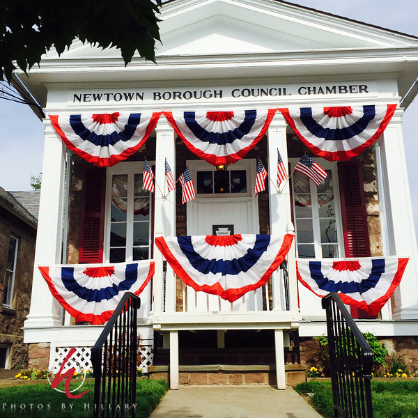 Daily Post 1180- 146/365   5/26/2014 - I hope you all had a wonderful Memorial Day weekend.. This was taking with my iPhone while taking a walk in Newtown, PA.. very stunning sight to see this wonderful display of red, white and blue! <br /> <br /> Late post…off to sleep. Have a good week!