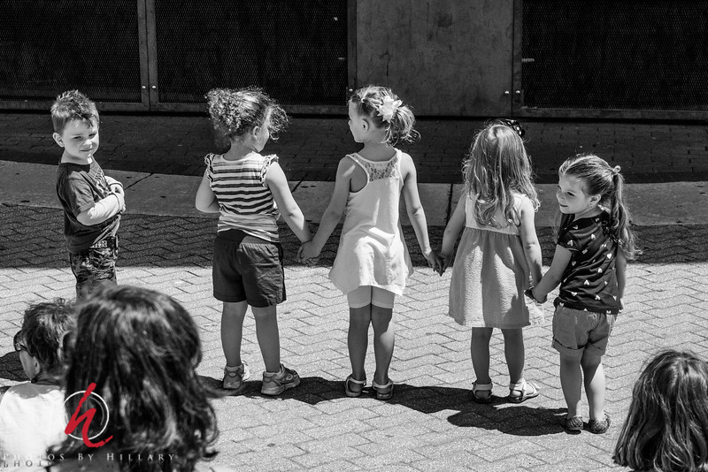 "Daily Post 1168 - 134/365   5/14/2014- A Boy and Some Girls… <br /> <br /> Great venue for kids to dance and enjoy the music last Sunday. I thought these children were so adorable watching the musicians and holding hands..then they would break up in pairs and dance.. Pure fun for us all to watch! <br /> <br /> Thanks to those of you who took time to look at the links I posted for ""Ronstadt Generations""..I'm really looking forward to seeing them perform in person in our area this summer!"