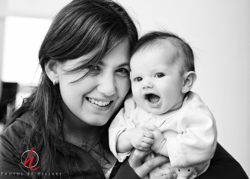 """<font size=""""4""""><b><font color=""""Yellow"""">Post 1071  36/365 2/5/2014 / We reconnected with friends from Argentina 2 weeks ago when they visited family of theirs in NY! Loved this shot of Aunt Johi with her 3 month old niece!   I'm posting this on my iPad (first time uploading to SmugMug from it) We have been without power since early this morning due to the ice storm here in the Philadelphia area and my planned 'snow day' editing spree was denied due to the power outage. However, I didn't want to miss my daily post so turned to the iPad and I'm happy to see it worked."""