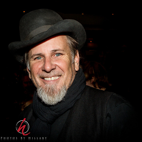 """<font size=""""4""""><b><font color=""""Yellow"""">Daily Post 1129-  95/365   4/5/2014 - Robert Earl Reynolds..one of the members of the band The Mavericks (That band you know I love to photograph!)…   Robert is one of the original members as is Raul Malo who I've posted photos of here before. I've been continuing my work on culling and editing old photos and though this was already one that was a picked image I did a little tweaking tonight and thought I would share the photo. I have a hard time getting good photographs of Robert when they perform as he loves to wear hats and often with wider brims than this one so it is hard to get photos that show his eyes…and you have to see his eyes!!!   This photo was taken at the CD Release Party at The City Winery in NYC 2/27/13 for """"In TIme""""..the first CD released by The Mavericks in 10 years. The album is outstanding and they have had fabulous success as they continue on the road on their #25Live Tour celebrating 25 years as a band.   Thank you all for your comments on yesterday's car from Havana.. I still have more, but thought I would shake it up a bit (very little bit) by posting another Mavericks band member! Looking forward to tomorrow's alphabet challenge and seeing what you all come up with! There are some very challenging letters ahead!"""
