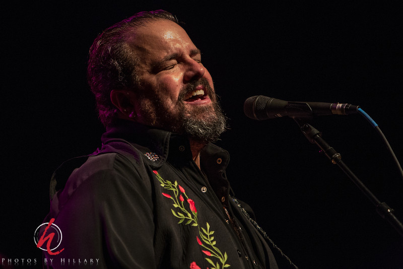 Daily Post 1155-  121/365   5/1/2014 - Raul Malo - Singing his heart out…again. <br /> <br /> Still working on culling out photos from this August 2013 performance at The Mayo Center for Performing Arts in Morristown, New Jersey. It's late..gotta get to sleep. thank you for all your time and attention to this series of photos of The Mavericks. I really appreciate your kindness and encouraging comments!
