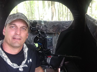 From the blind 16' above the cypress swamp....30 seconds after having completed a very successful, 7 month long filming project for the BBC. VERY REWARDING!!