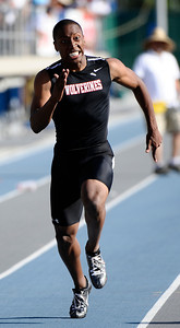 competes during the 2010 CIF southern section Toyota track & field division finals at Cerritos Collage. Norwalk CA. May 22,2010. Photo by Gene Blevins/LA Daily News