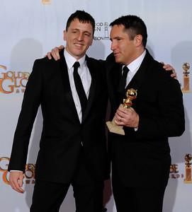 Golden Globe Awards - Press Room