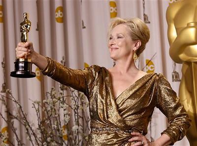 APTOPIX 84th Academy Awards Press Room