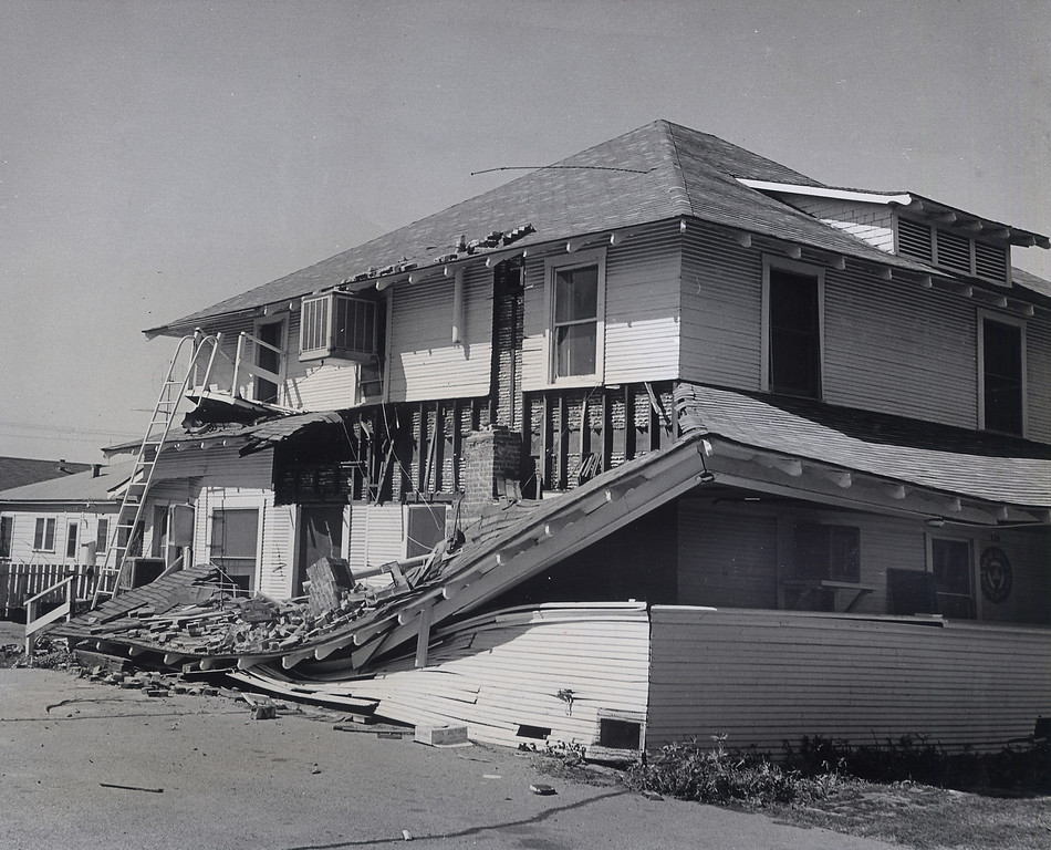 . The 1971 San Fernando earthquake (also known as Sylmar earthquake) struck the San Fernando Valley near Sylmar at 6:00:55 a.m. PST on February 9, 1971, with a magnitude of 6.6.  The Old Hubbard House located on the southwest corner of Fourth St. and Brand Blvd. in the city of San Fernando was severly damaged. There are various names for this earthquake. Seismologists call it the San Fernando earthquake. USGS \'Sylmar Quake\' or \'Sylmar earthquake\' is the name initially given to the event by local media outlets, because the worst damage was to the Olive View Medical Center, located in Sylmar. Local veterans of \'the Sylmar Quake\' commonly refer to this seismic event as the \'February Ninth\' quake. (Daily News File Photos.)