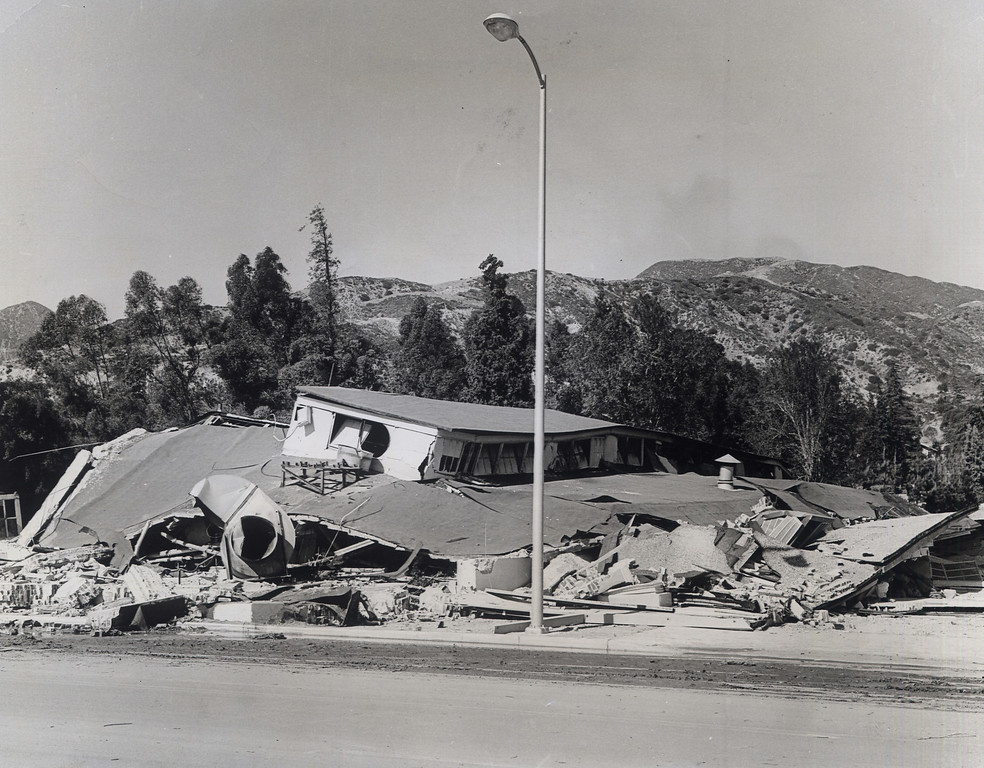 . The 1971 San Fernando earthquake (also known as Sylmar earthquake) struck the San Fernando Valley near Sylmar at 6:00:55 a.m. PST on February 9, 1971, with a magnitude of 6.6.  Part of the Old Olive View Hospital destroyed in the quake. There are various names for this earthquake. Seismologists call it the San Fernando earthquake. USGS \'Sylmar Quake\' or \'Sylmar earthquake\' is the name initially given to the event by local media outlets, because the worst damage was to the Olive View Medical Center, located in Sylmar. Local veterans of \'the Sylmar Quake\' commonly refer to this seismic event as the \'February Ninth\' quake. (Daily News File Photos.)