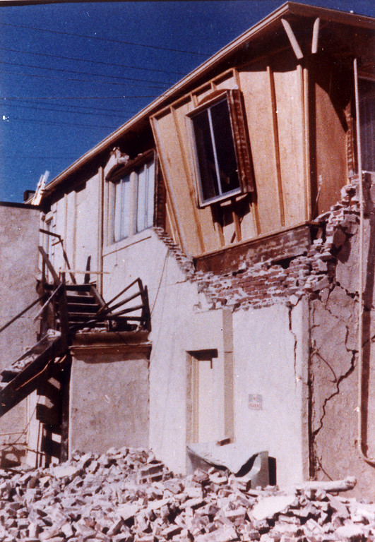 . The 1971 San Fernando earthquake (also known as Sylmar earthquake) struck the San Fernando Valley near Sylmar at 6:00:55 a.m. PST on February 9, 1971, with a magnitude of 6.6.  Newhall Pharmacy on the morning of the quake.  View is of the rear of the building. There are various names for this earthquake. Seismologists call it the San Fernando earthquake. USGS \'Sylmar Quake\' or \'Sylmar earthquake\' is the name initially given to the event by local media outlets, because the worst damage was to the Olive View Medical Center, located in Sylmar. Local veterans of \'the Sylmar Quake\' commonly refer to this seismic event as the \'February Ninth\' quake. (Daily News File Photos.)