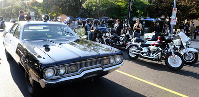 The famous LAPD 1966 Dodge 1Adam-12 took part during the 4th Annual West Valley Memorial Motorcycle Ride benefiting the Randal D. Simmons Outreach Foundation, Los Angeles Police Memorial Foundation and the West Valley B.O.O.S.T.E.R.S. Reseda CA. Aug 27,2011 photo by Gene Blevins/LA DailyNews