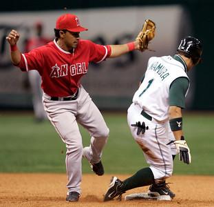 Angels Devil Rays Baseball