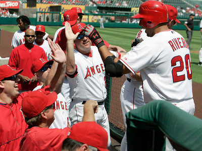 Devil Rays Angels Baseball