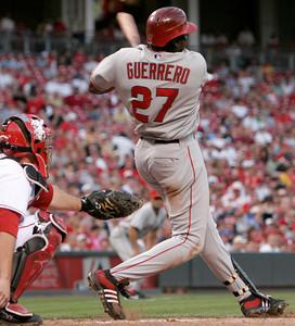 Angels Reds Baseball