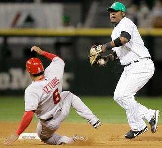 CORRECTION Angels White Sox Baseball