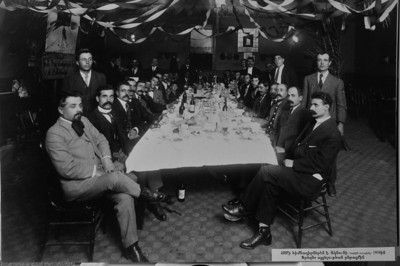 The 1910 photographs shows a meeting of the ARS in 1910. The Armenian Relief Society is celebrating its centennial this year. Glendale, CA 9/16/2010 (John McCoy/staff photographer)