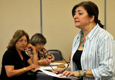 Lena Karagueuzian teaches English. The Armenian Relief Society is celebrating its centennial this year. Glendale, CA 9/16/2010 (John McCoy/staff photographer)