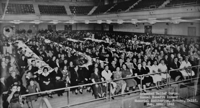 Annual Benefit Dinner, photo taken if Fresno, CA 1942. The Armenian Relief Society is celebrating its centennial this year. Glendale, CA 9/16/2010 (photo courtesy ARS)