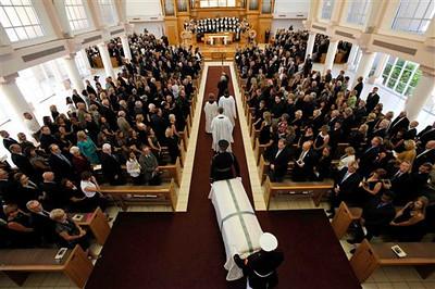 APTOPIX Betty Ford Funeral