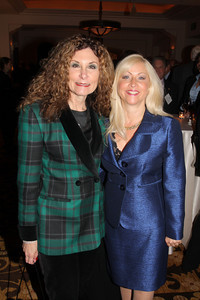 Past BHBA president, Cindy Pasternak and Linda Spiegel, BHBA Secretary/treasurer.  The Beverly Hills Bar Association (BHBA), expanding on its tradition of championing access to justice, an independent judiciary and the Rule of Law, honored two titans of the legal community at its inaugural ÒBeverly Hills Bar Association Litigation Section Dinner,Ó on Wednesday, February 2, 2011, at Montage Beverly Hills. More than 300 legal glitterati turned out to salute recently-retired California Supreme Court Chief Justice Ronald M. George, considered one of the most effective judicial administrators in the stateÕs history, and renowned trial lawyer Roman M. Silberfeld, widely respected for his groundbreaking work on a range of complex litigation cases, including the recent entertainment case Celador International Ltd. v. The Walt Disney Company, for which he obtained a verdict for a record amount of $319 million.  Lee Salem Photography