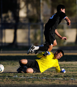 Birmingham vs. Cleveland in semifinals of Raider Cup boys' soccer tournament