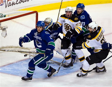 Stanley Cup Bruins Canucks Hockey