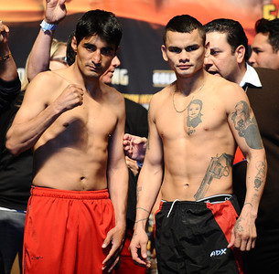 Fighters-Weigh in