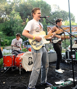 The Tijuana Panthers perform during the annual  Brew at the Zoo, as over 2000 beer lovers came out to sample 20 different kinds of brews makers beers at the LA zoo. Los Angeles. CA. Aug 12,2011 photo by Gene Blevins/LA DAILY NEWS