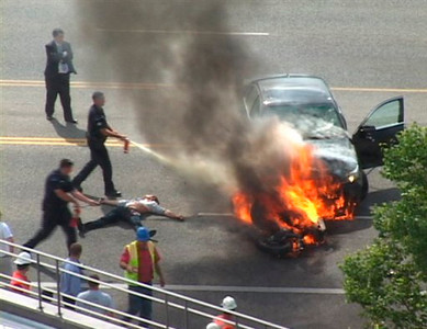 Burning Car Heroes