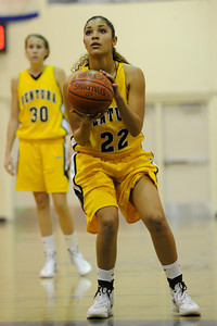 The Camarillo Girls Basketball team played host to Ventura defeating them 56 to 52. Camarillo, CA 1/7/2012(John McCoy/Staff Photographer)