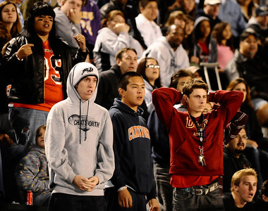 Chatsworth fans react as they looses to Fairfax high 51 to 7 in City Section Div. II football final CIF. Los Angeles. Dec 10,2010. Photo by Gene Blevins/LA Daily News